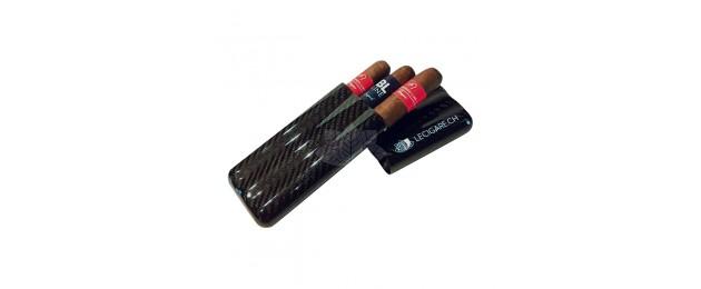 Carbon cigars case Lecigare...